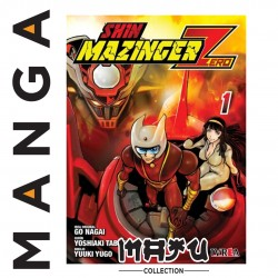 SHIN MAZINGER ZERO MANGA